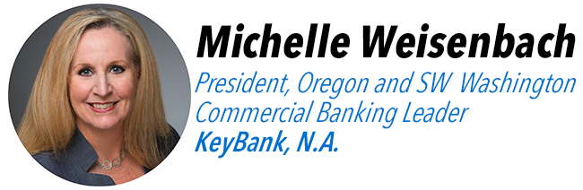 Michelle Weisenbach, President, Oregon and SW Washington Commercial Banking Leader at Keybank, N.A.