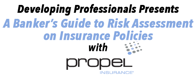 Developing Professionals Presents: A Banker's Guide to Risk Assessment on Insurance Policies with Propel Insurance