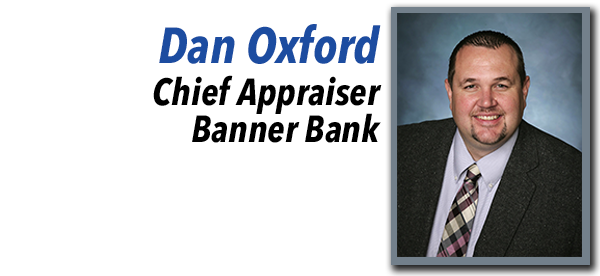 Dan Oxford, Chief Appraiser at Banner Bank.