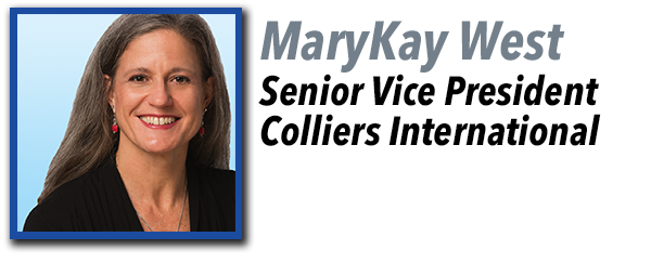 MaryKay West, Senior Vice President at Colliers International.