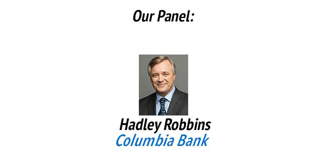 Hadley Robbins, Columbia Bank