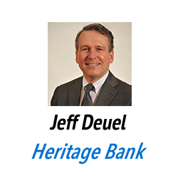 Jeff Deuel, Heritage Bank
